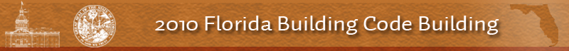 2010 Florida Building Code Building Code Banner