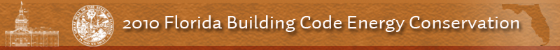 2010 Florida Building Code Energy Code Banner