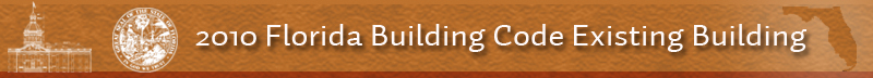 2010 Florida Building Code Existing Building Code Banner