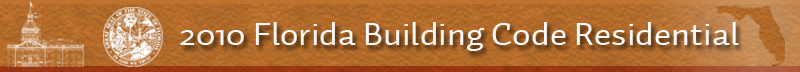 2010 Florida Building Code Residential Code Banner