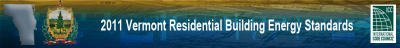 2011 Vermont Residential Energy Header Banner