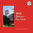 2010 Oregon Fire Code cover