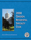 2008 Oregon Residential Specialty Code product image
