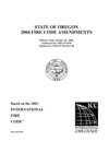 2004 Oregon Fire Code cover image